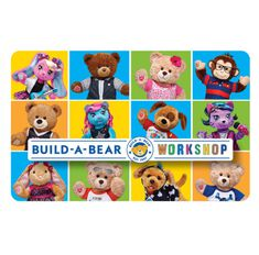 Give the gift of FUN with a Build-A-Bear Workshop gift card! Each furry friend is stuffed with love and makes a perfectly personalized gift for someone special.