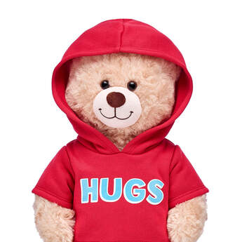 Red Hugs Hoodie - Build-A-Bear Workshop®