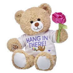 Online Exclusive Cuddly Brown Bear Hang In There Gift Set, , hi-res