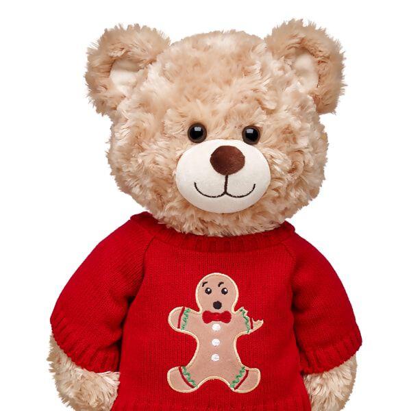 Red Gingerbread Man Sweater, , hi-res