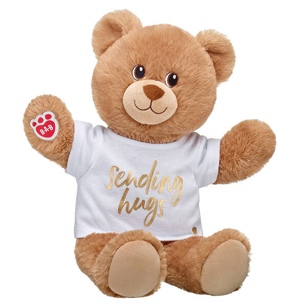 Online Exclusive Lil' Cub® Brownie Gold Sending Hugs Gift Set, , hi-res