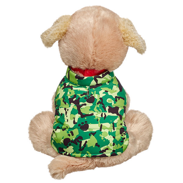 Promise Pets™ Camo Puffer Coat, , hi-res