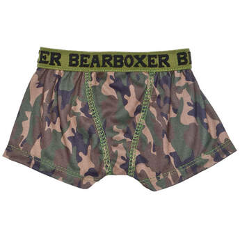 6eeab1339f67d Add this pair of teddy bear size camo knit BEARboxers to your stuffed  animal'