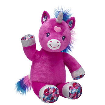 Candy Hearts Unicorn - Build-A-Bear Workshop®