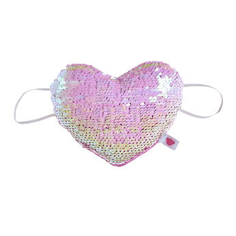 Be Mine Sequin Heart Wrist Accessory - Build-A-Bear Workshop®