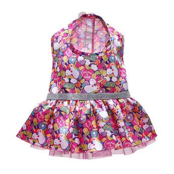 Rainbow Unicorn Dress, , hi-res