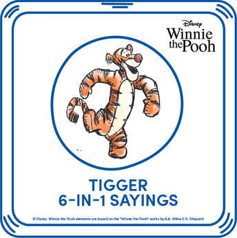 Tigger 6-in-1 Phrases - Build-A-Bear Workshop®