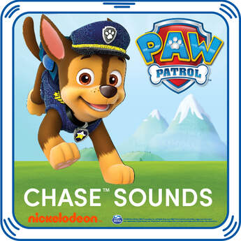 Add Chase's signature sayings to your furry friend. The pups' heroic phrases are the perfect addition to any PAW Patrol furry friend.