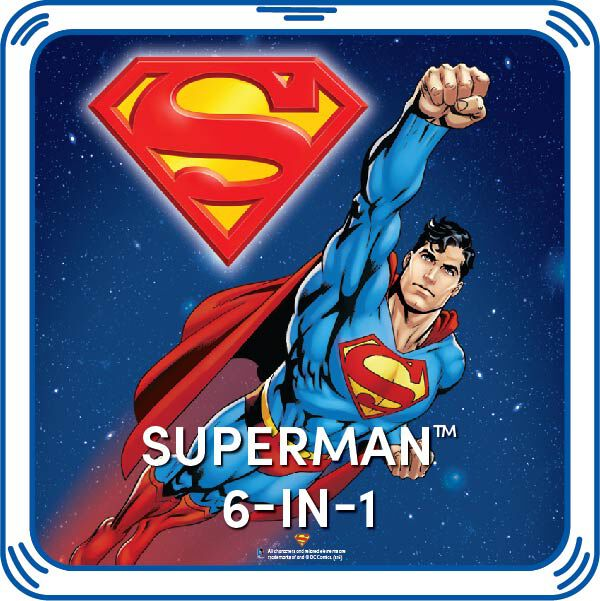 Superman™ 6-in-1 Sayings, , hi-res