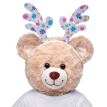 Snowflake Antlers Headband - Build-A-Bear Workshop®