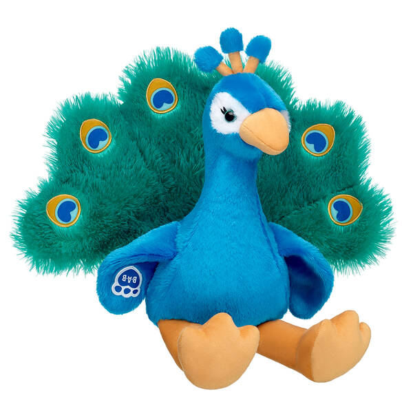 Online Exclusive Peacock - Build-A-Bear Workshop®