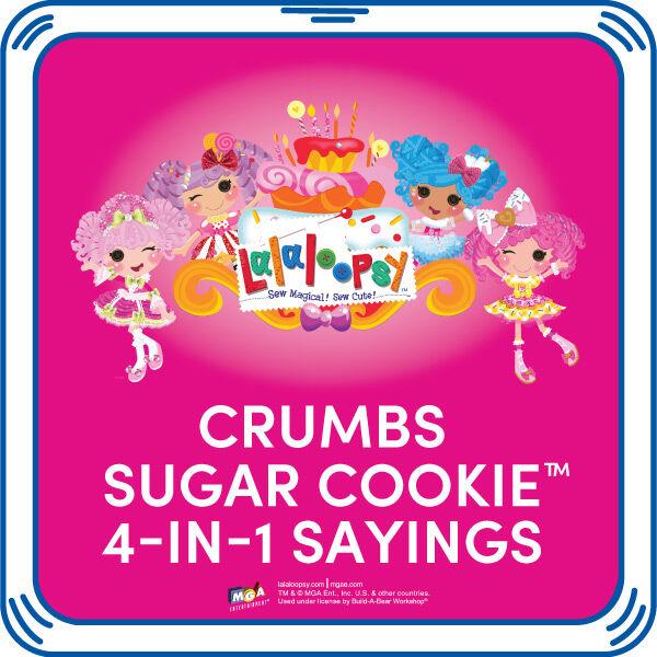 Crumbs Sugar Cookie™ 4-in-1 Sayings, , hi-res