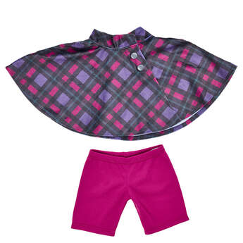 Purple Cape & Pant Set 2 pc. - Build-A-Bear Workshop®