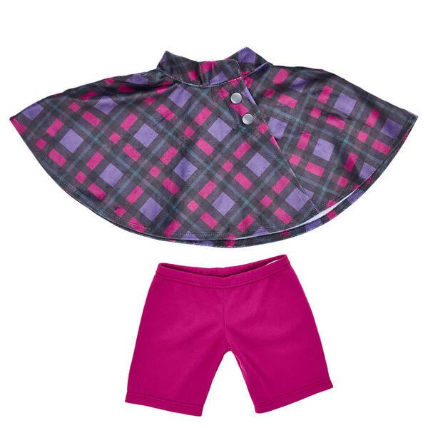 Purple Cape & Pant Set 2 pc. - Build-A-Bear Workshop®