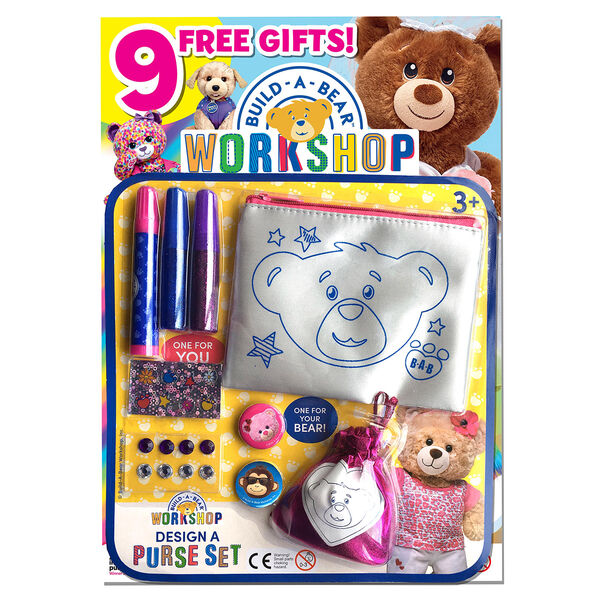 Build-A-Bear Workshop® Magazine Gift Set 10 pc., , hi-res