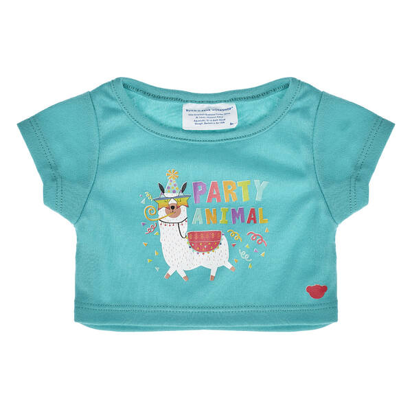 Online Exclusive Party Animal T-Shirt - Build-A-Bear Workshop®