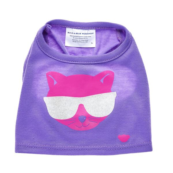 Promise Pets™ Purple Cat T-Shirt, , hi-res