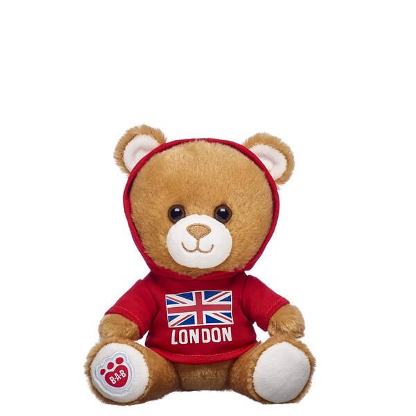 Build-A-Bear Buddies™ Light Brown Bear with Union Jack T-Shirt - Build-A-Bear Workshop®