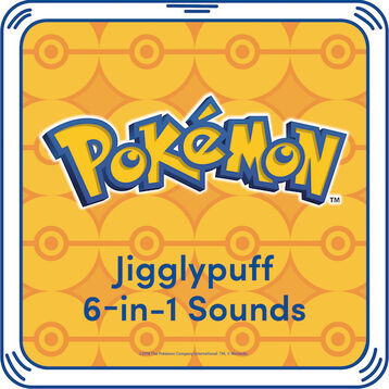 Let Jigglypuff sing you a soothing lullaby! Add this 6-in-1 Jigglypuff sound to your furry friend for additional Pokémon fun! ©2018 The Pokémon Company International. ©1995–2018 Nintendo / Creatures Inc. / GAME FREAK inc. TM, ®, and character names are trademarks of Nintendo. .