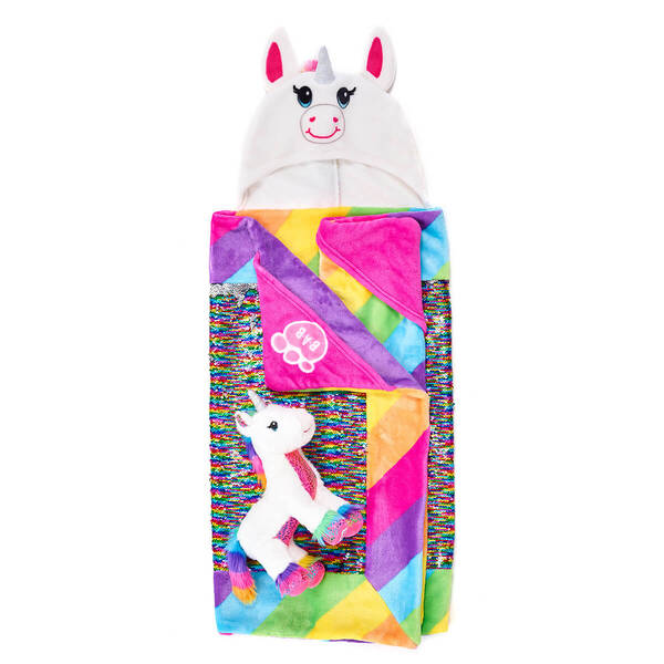 Magic Shimmer Unicorn & Big Hugs Blanket Set, , hi-res