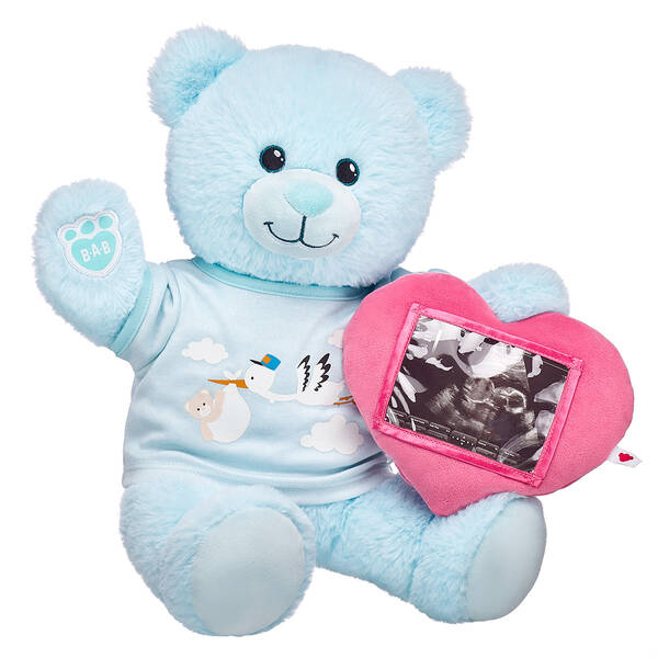 Online Exclusive Blue Baby Bear Picture Frame Gift Set, , hi-res