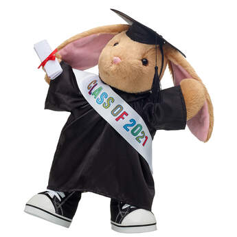 Pawlette™ Black Graduation Gown Gift Set, , hi-res