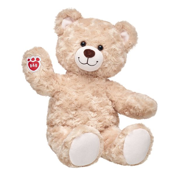 Classic Happy Hugs Teddy Bear is sure to bring you forever love and hugs! Customize your furry friend with unique clothing & accessories for perfect gift.