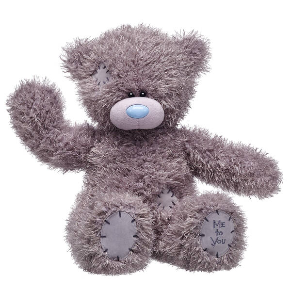Tatty Teddy Bear with Me to You patch sitting and waving