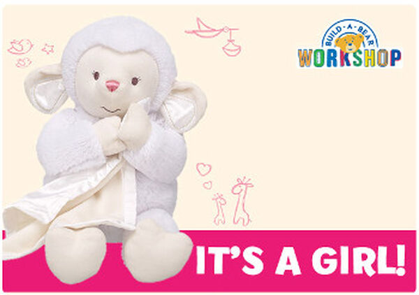 It's A Girl E-Gift Card, , hi-res