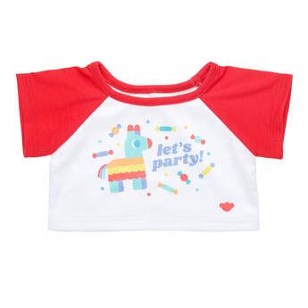 Online Exclusive Let's Party T-Shirt - Build-A-Bear Workshop®