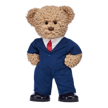 Timeless Teddy Business Suit Gift Set, , hi-res