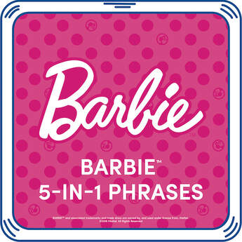 Are you ready for an adventure? Add these Barbie™ 5-in-1 Phrases to your furry friend and you can hear Barbie's voice whenever you give your Barbie™ Bear a hug! Personalise a furry friend to make the perfect gift. Shop online or visit a store near you!