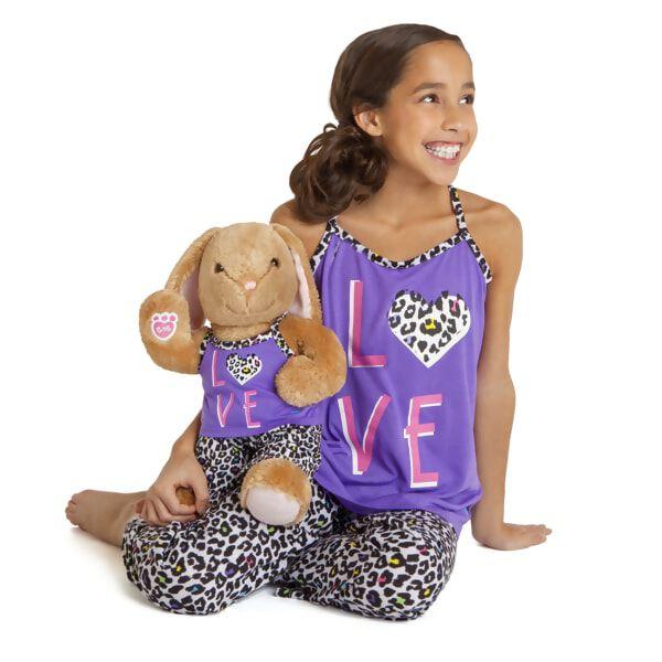 Kids LOVE Leopard Pyjamas 2 pc. Size 7/8, , hi-res