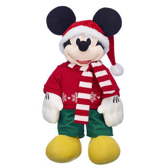 Online Exclusive Disney Mickey Mouse Christmas Outfit - Build-A-Bear Workshop®