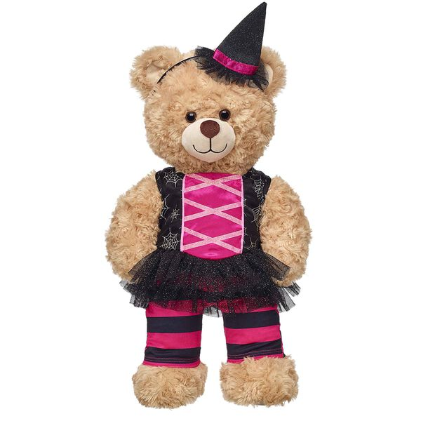 Black & Pink Witch Costume 2 pc., , hi-res