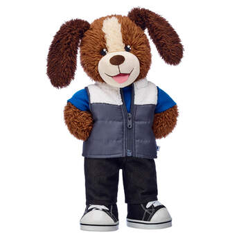 Playful Pup Puffer Vest Gift Set, , hi-res