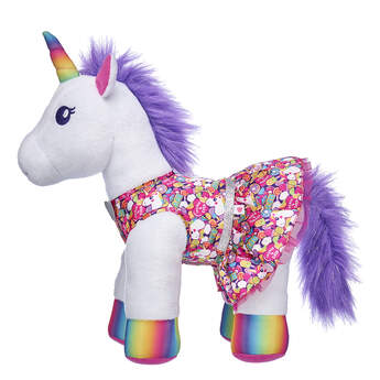 Rainbow Unicorn Dress - Build-A-Bear Workshop®