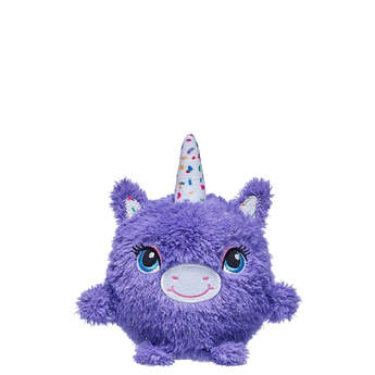 Purple Stardust Unicorn Slow-Foam Mini - Build-A-Bear Workshop®