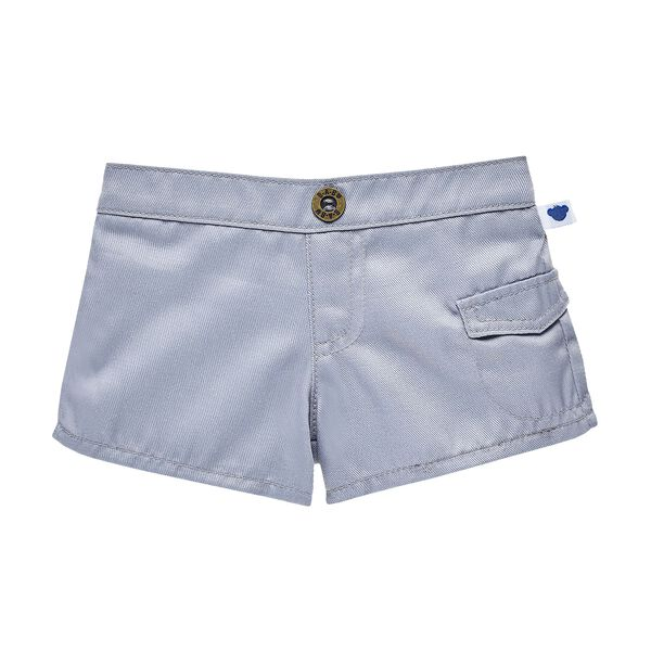 Grey Cargo Shorts, , hi-res