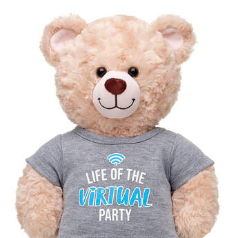 Online Exclusive Virtual Party T-Shirt - Build-A-Bear Workshop®