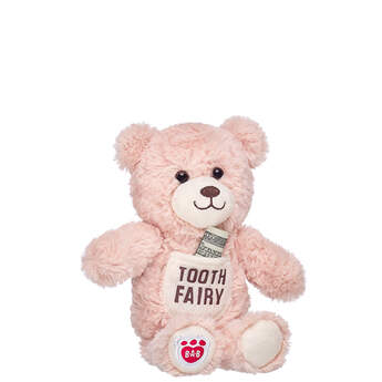 Online Exclusive Tooth Fairy Bear with Pocket - Build-A-Bear Workshop®