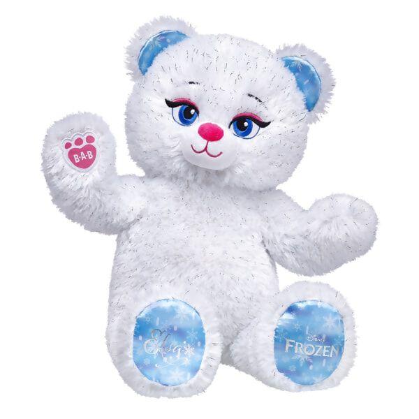 Elsa Inspired Bear, , hi-res