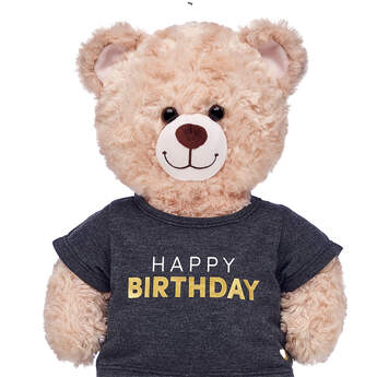 Online Exclusive Metallic Birthday T-Shirt - Build-A-Bear Workshop®