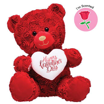 Red Roses Bear Scented Gift Set, , hi-res