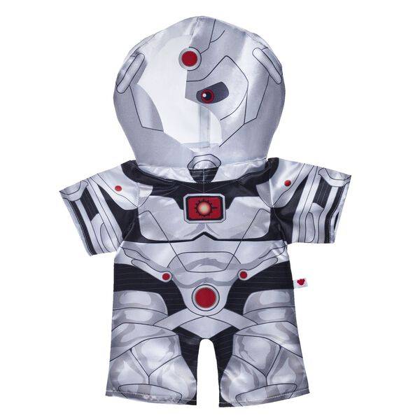 A superhero plugged into every computer on Earth, Cyborg is the hero we need for the digital age. Your furry friend can embrace their superhuman strength in this fun Cyborg costume! Dress a furry friend in this Justice League costume to make the perfect gift for movie fans. ™ & © DC Comics. (s17)