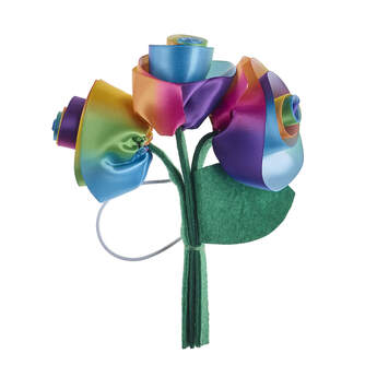 Rainbow Flower Bouquet - Build-A-Bear Workshop®