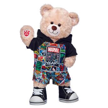 Happy Hugs Teddy Marvel 80th Anniversary Gift Set, , hi-res