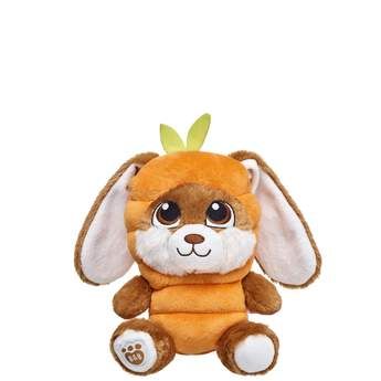 Hop to it! Your Build-A-Bear Buddies will look extra cute in this adorable carrot costume! Build-A-Bear Workshop offers hundreds of unique stuffed animal clothing & accessory options you won't find anywhere else. Outfit a furry friend online to make the perfect gift!