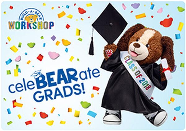 CeleBEARate Grads E-Gift Card, , hi-res