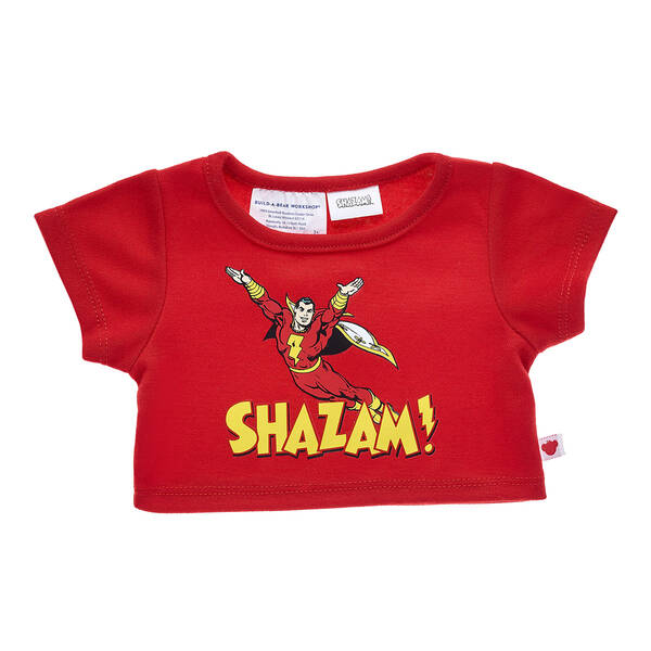 SHAZAM!™ T-Shirt - Build-A-Bear Workshop®